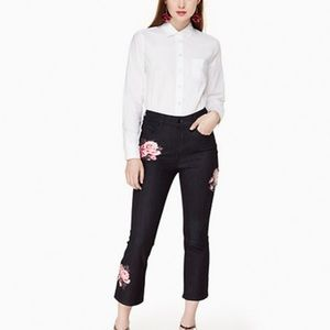 KATE SPADE Kick Flare Jeans NEW